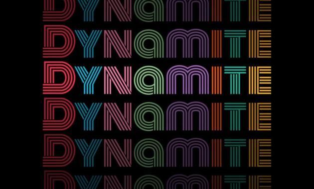 BTS - Dynamite Lyrics