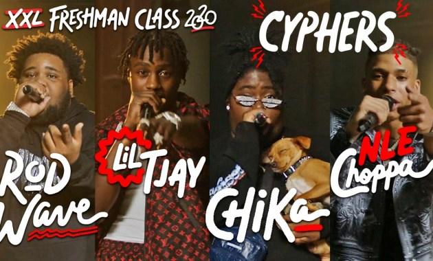 NLE Choppa, Rod Wave, Lil Tjay and Chika - 2020 XXL Freshman Cypher Lyrics