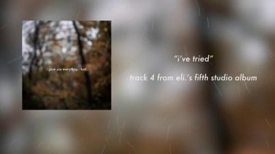 eli. - i've tried Lyrics