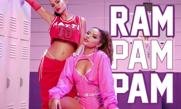 Natti Natasha & Becky G - Ram Pam Pam Lyrics