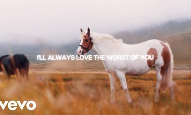 PJ Harding & Noah Cyrus - The Worst Of You Lyrics
