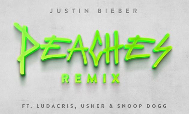 Justin Bieber ft. Ludacris, Usher & Snoop Dogg - Peaches Lyrics