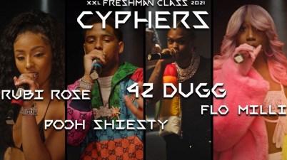 Pooh Shiesty, Flo Milli, 42 Dugg & Rubi Rose - 2021 XXL Freshman Cypher Lyrics