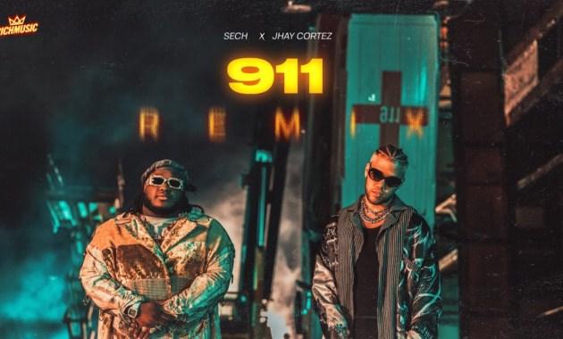 Sech & Jhay Cortez - 911 (Remix) Lyrics