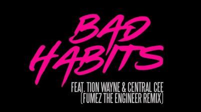 Ed Sheeran & Tion Wayne & Central Cee - Bad Habits Remix Lyrics