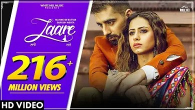 Photo of LAARE Lyrics |Maninder Buttar | Sargun Mehta | B Praak