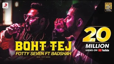 Photo of Boht Tej Lyrics – Badshah | Fotty Seven
