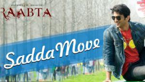 Raabta Sadda Move Song Sushant Rajput