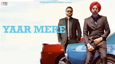 Yaar Mere lyrics Tarsem Jassar Kulbir Jhinjer