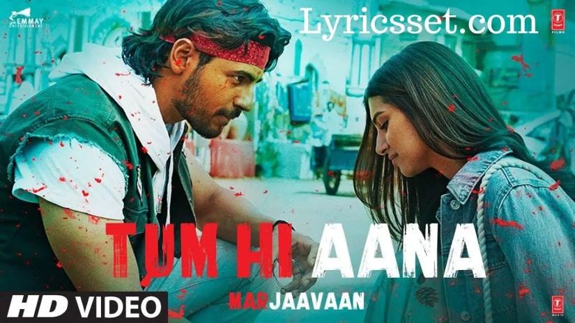 Tere Jaane ka Gam Lyrics