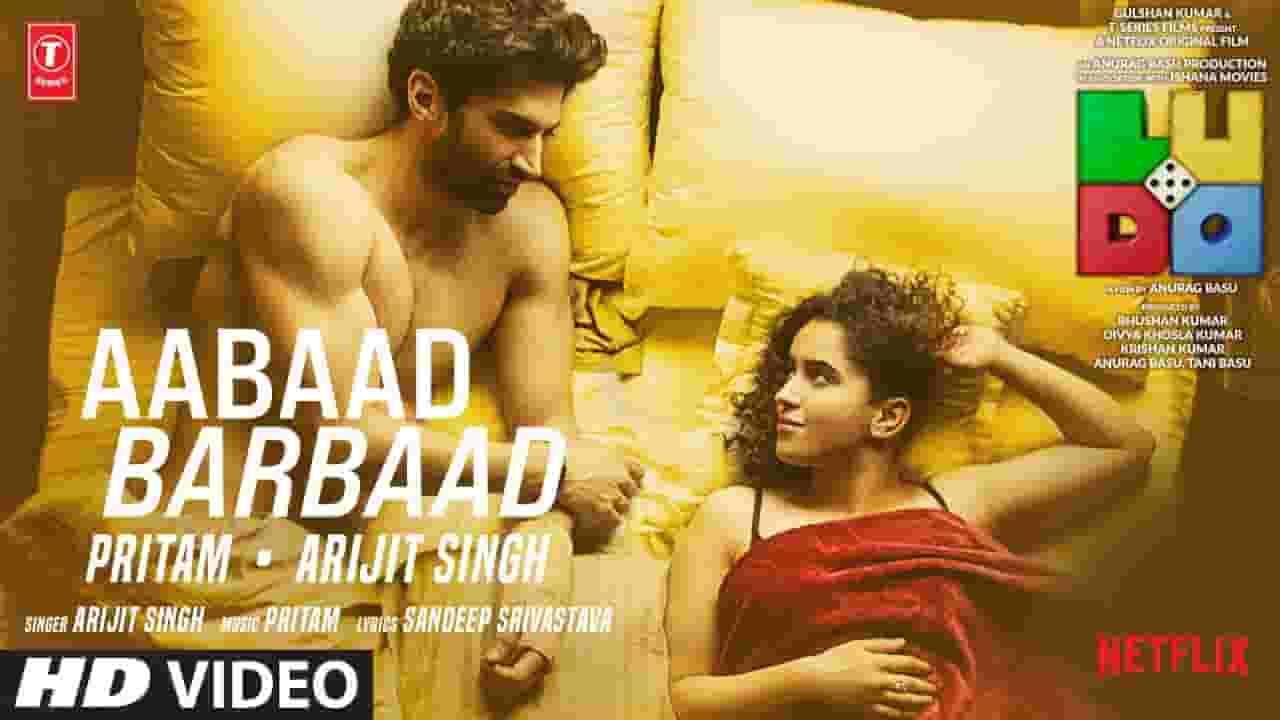 आबाद बर्बाद Aabaad Barbaad Lyrics in Hindi