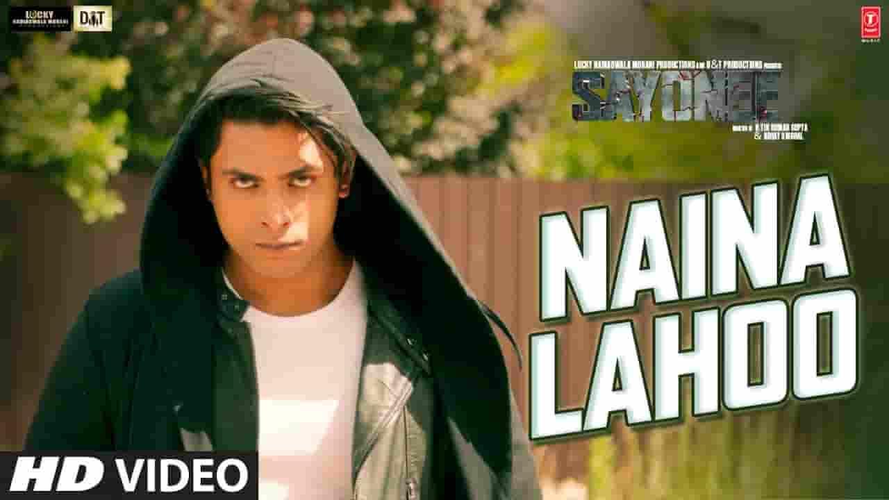 नैना लहू Naina Lahoo Lyrics In Hindi – Sayonee | Salman Ali