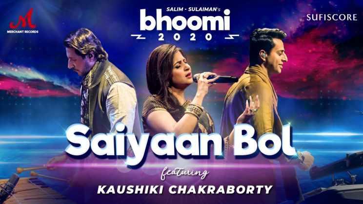 सैयाँ बोल Saiyaan Bol Lyrics In Hindi – Kaushiki Chakraborty