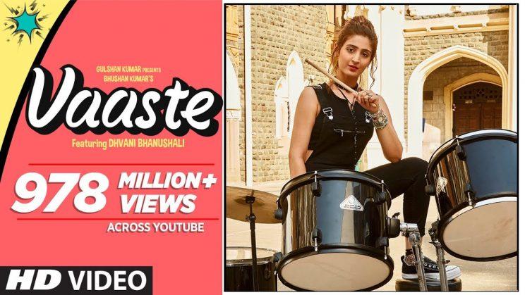 वास्ते Vaaste Lyrics in Hindi Download – Dhvani Bhanushali, Nikhil D'souza