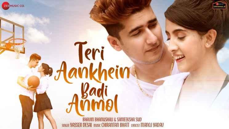 Teri Aankhein Badi Anmol Lyrics In Hindi