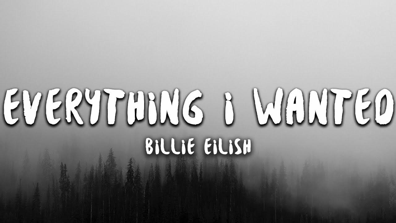 I Had A Dream Lyrics - Billie Eilish