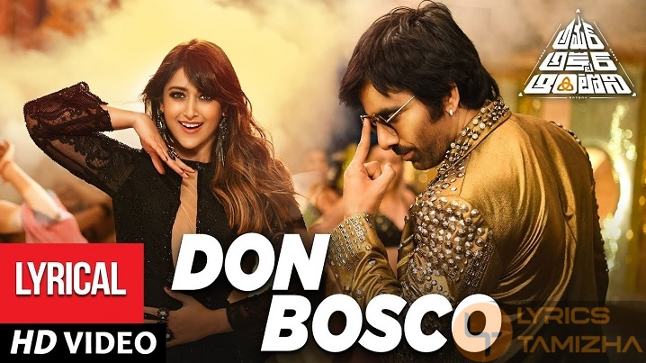 Don Bosco Song Lyrics Amar Akbar Anthony