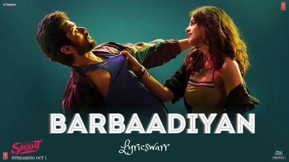 Barbaadiyan Lyrics
