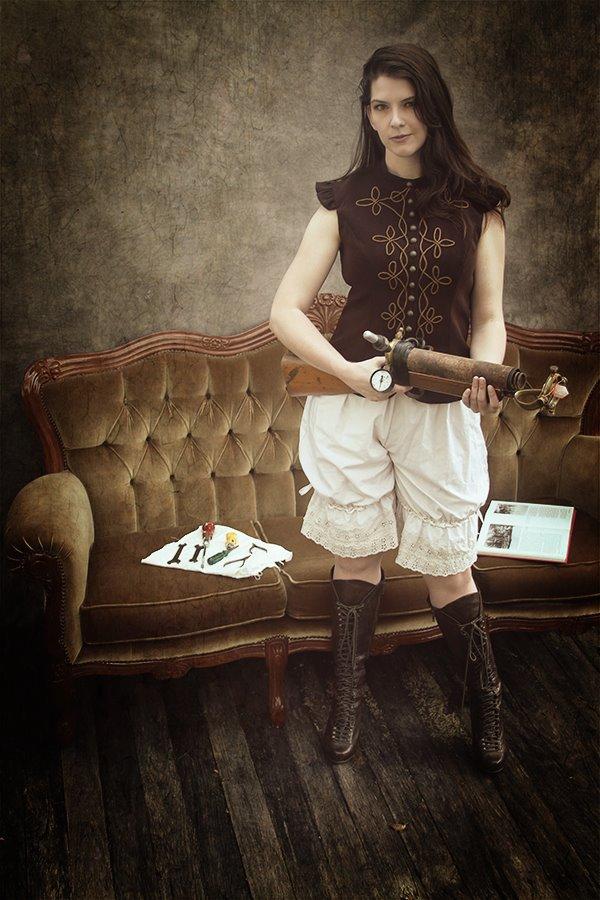 Caroline steampunk bodice