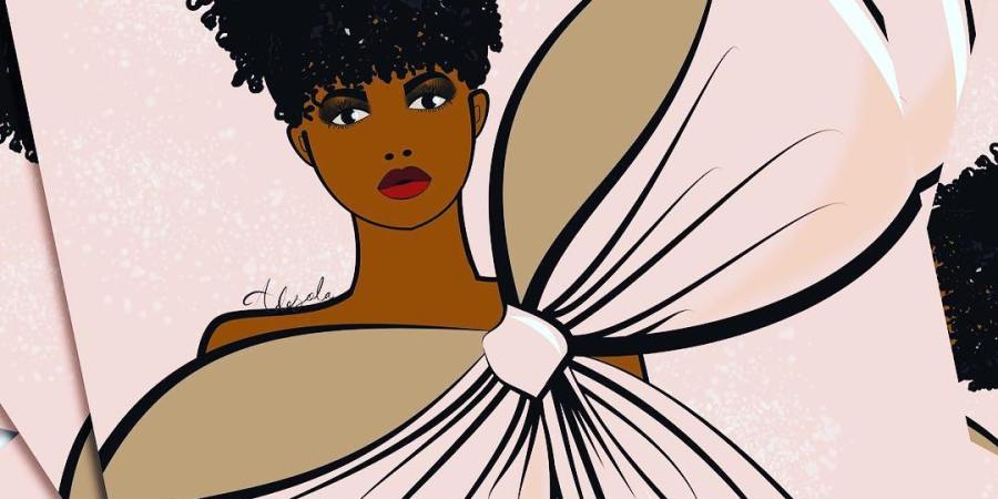 Meet Nigerian Fashion Illustrator   Adesola Lasisi