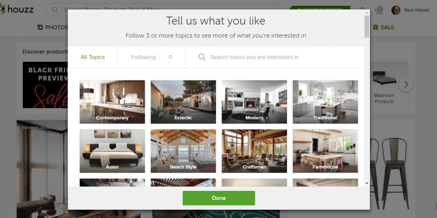 Houzz Interior Design App