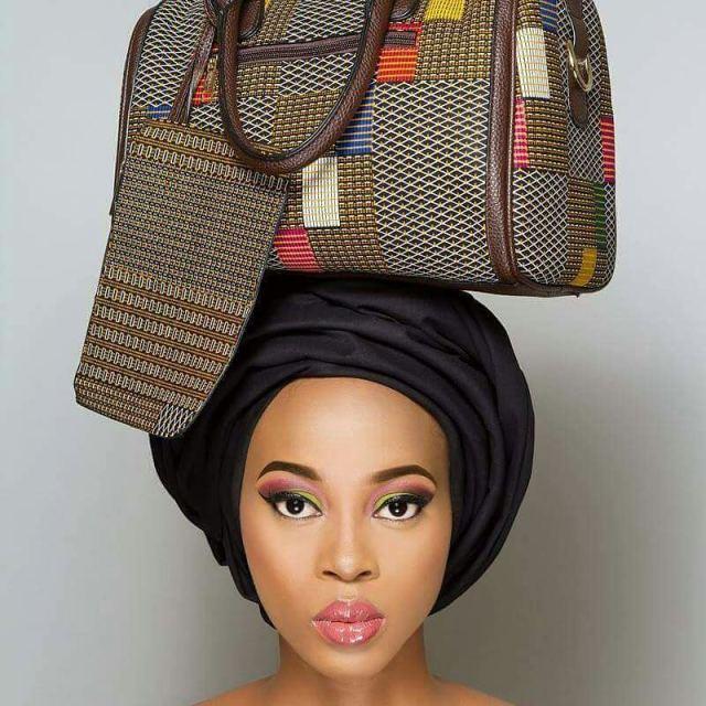 Voilà Apparel modern African bag