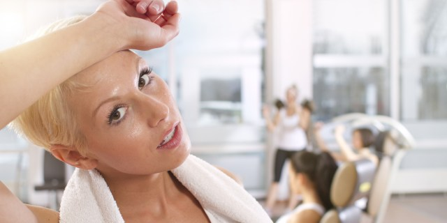 Makeup to the gym sweating with makeup lysa africa
