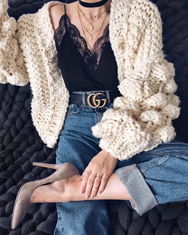 Oversized crochet knit sweaters lysa africa