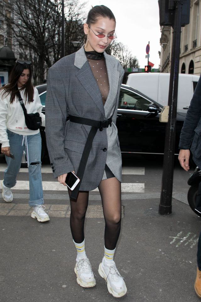 Dad Sneakers Fashion Trend Ugly Sneakers Style Lysa Africa Magazine Bella Hadid