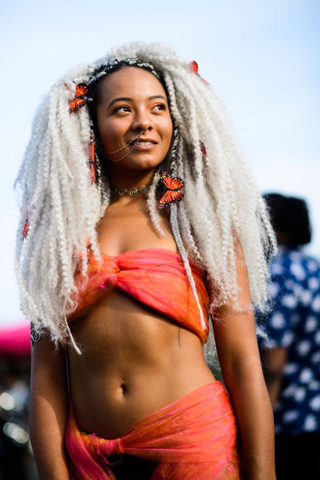 6 Cool Festival Makeup And Hair Looks Lysa Africa Magazine Afropunk Street Style