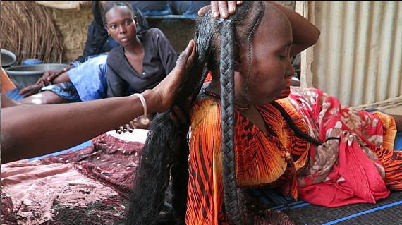 Beauty The African Way | Long Hair Beauty Secret From Chad Chebe Powder Lysa Africa Magazine