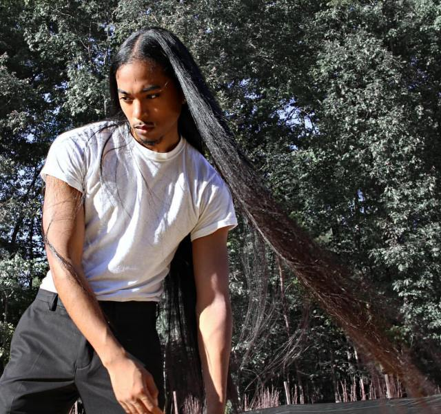 The Man Mane | Redefining Masculinity Through Long Hair Giovanni Ferrer Men With Long Hair Lysa Africa Magazine