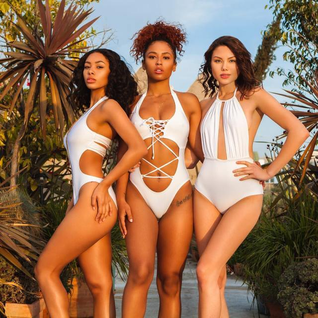 Rock Your Summer Body | Swimsuits For All Sizes Lysa Africa Magazine Mint Swim Draya Michele Swimwear