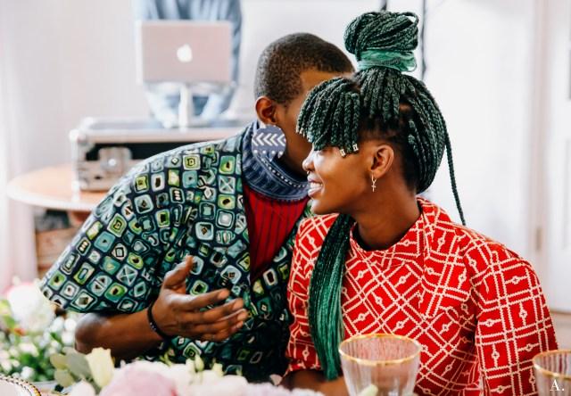 Mzukisi's Banquet   Celebrating Afro- Centrism Lysa Africa Magazine Marie Antoinette The Algorithm