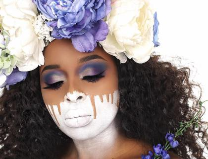 The Blank Canvas Look | A pretty Take On Halloween - Lysa Magazine