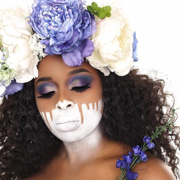 The Blank Canvas Look   A pretty Take On Halloween - Lysa Magazine