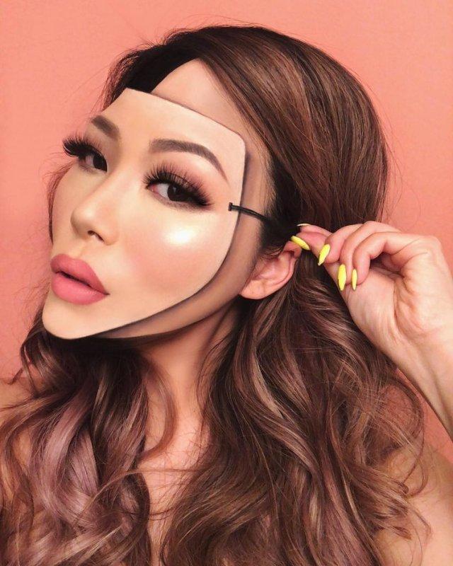 Optical Illusions | Makeup Artists Taking Their Work To The Next Level - Lysa Magazine Mini Choi