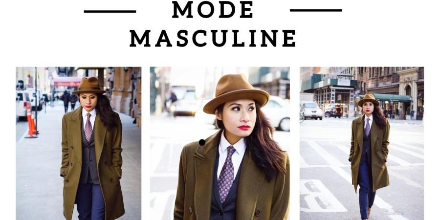 Woman In Men's Fashion   Cris La Garçonnière - Lysa Magazine Woman in suits woman in mens suits menswear mens fashion