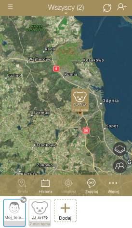 ZEGARKIEM WODOODPORNYM GPS LOCON