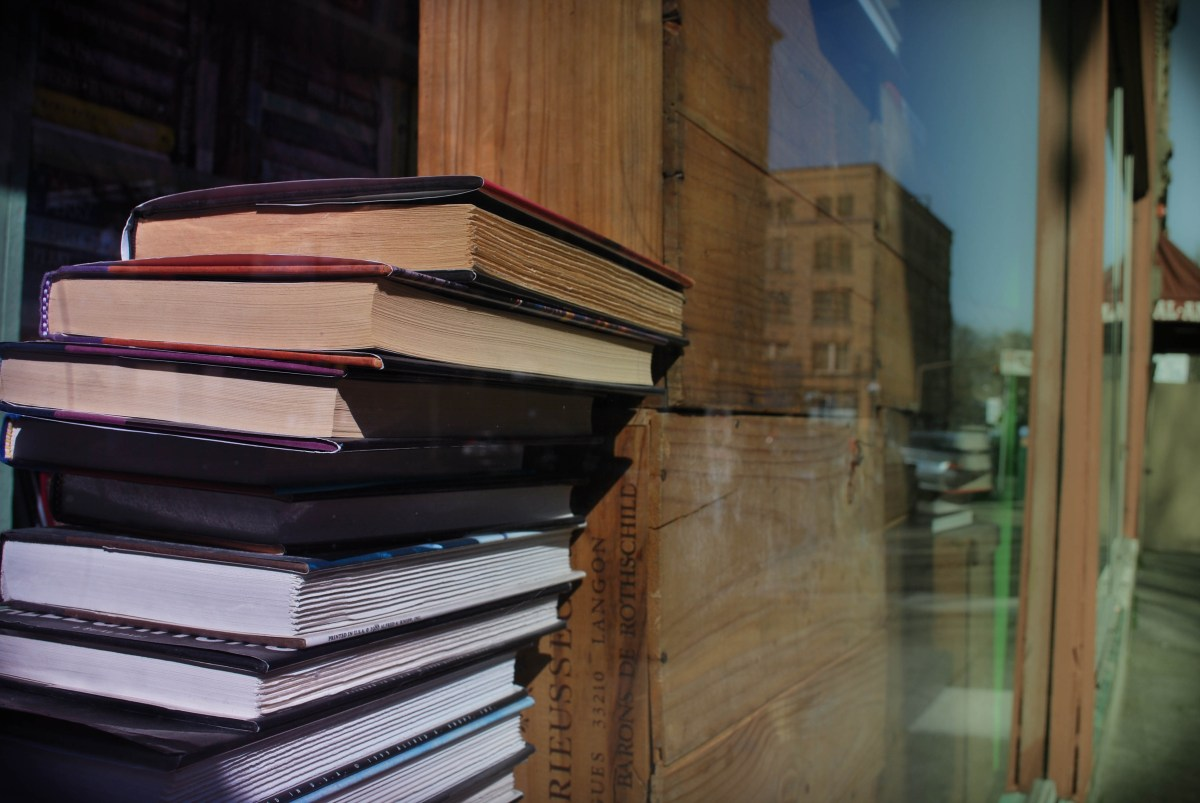 photo of books - image of books - pile of books - stack of books - bookworm - book lover - portland photos - portland pictures - bookstore