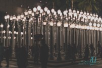 urban light - lacma - los angeles - streetlamps - fine art photography