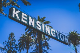 kensington, san diego, kensington sign, kensington neon sign, san diego neighborhoods, san diego neon signs, san diego photos, urban photography