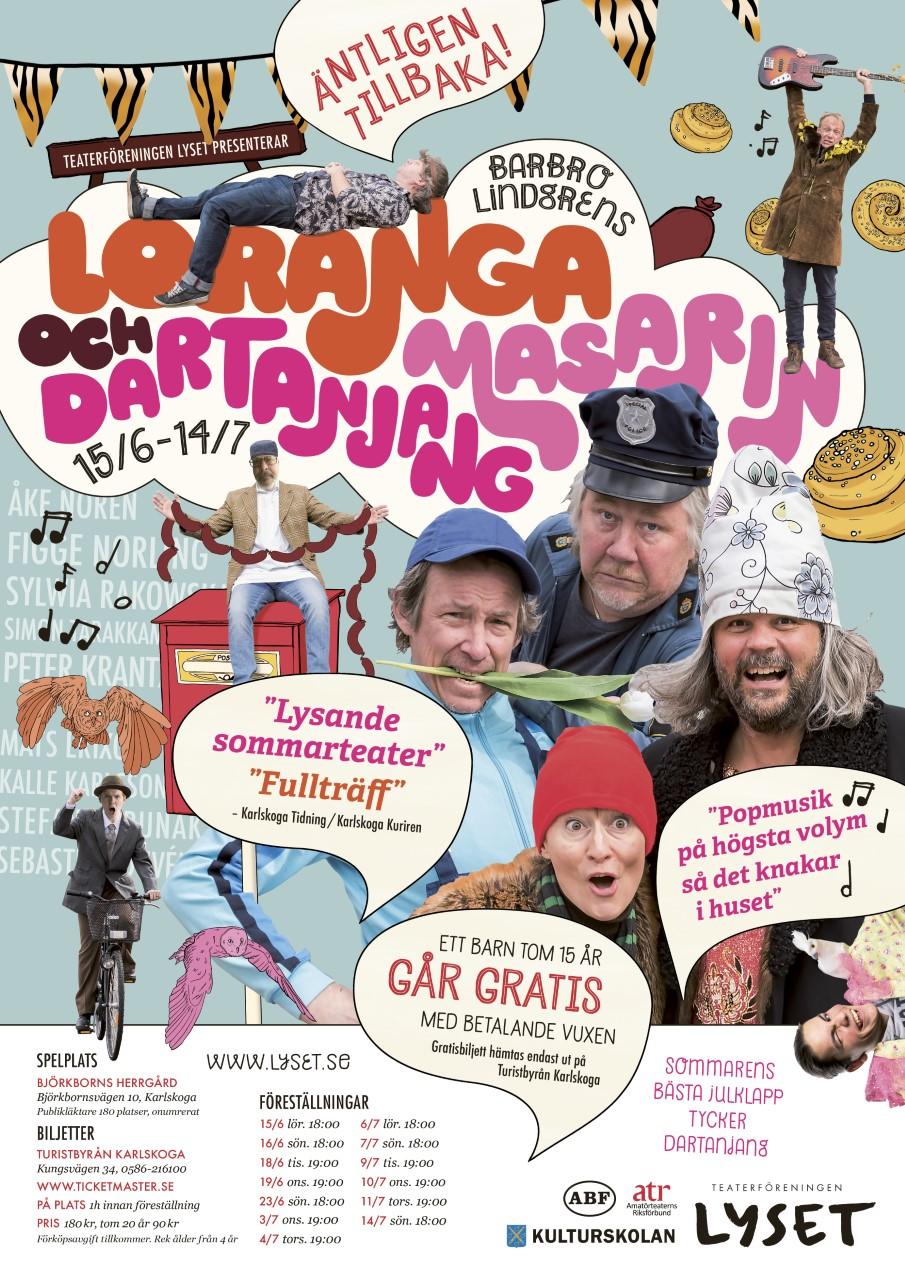 Loranga Masarin och Dartanjang 2019