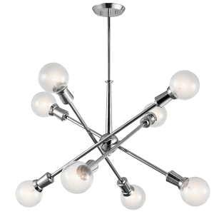 Armstrong 8 Light Chandelier Chrome