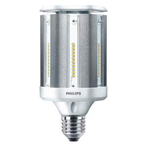 PHILIPS 40 Watts LED Lamp, Cylindrical, Mogul Screw (E39), 5000 Lumens, 4000K Bulb Color Temp.