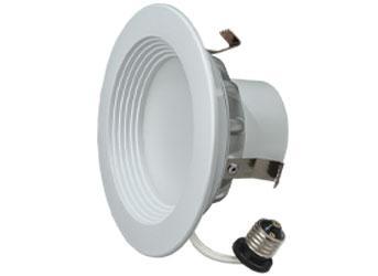 "4"" LED Downlight 8.5W Soft White 6/PK"