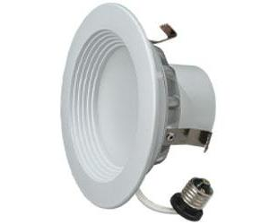 "4"" LED Downlight 8.5W Warm White 6/PK"