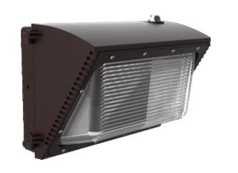 36W LED Wallpack W/Photocell 5000K