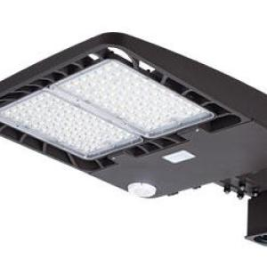100W Slim Profile LED Area Lights Mounting Arm Included