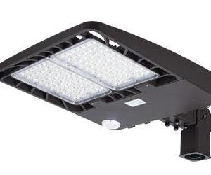 150W Slim Profile LED Area Lights Mounting Arm Included